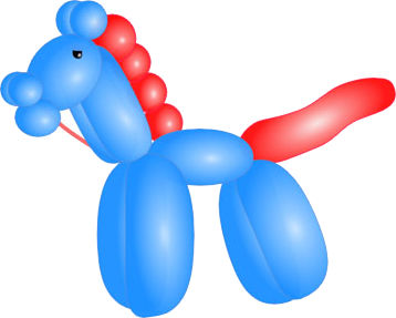 Kids party balloon